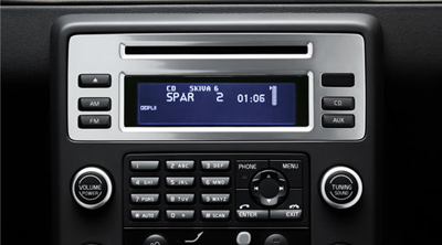 2010 volvo v70 6 disc cd changer. Black Bedroom Furniture Sets. Home Design Ideas