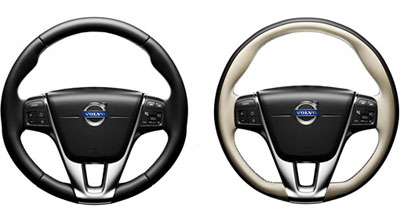 2015 Volvo S60 Steering wheel, leather