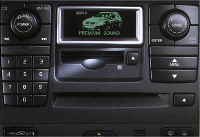 2003 Volvo XC90 6 Disc In Dash CD Player 8682073