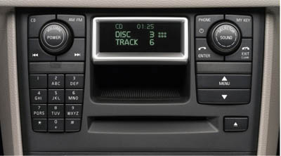 2006 Volvo XC90 6-Disc In-Dash CD Player