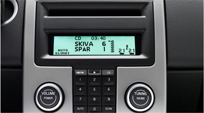 Buy in dash cd players accessories - 2012 Volvo C70 - 6-Disc In-Dash CD Player - Frame