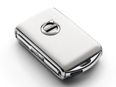 2018 Volvo V90 Cross Country Key fob shell, white leather 31659818