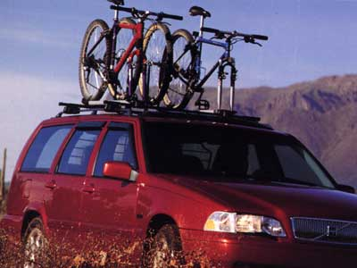 2000 Volvo V70AWD Fork-Mounted Bike Rack