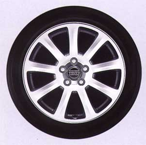 2004 Volvo S60 Interceptor Aluminum Wheel 9162393