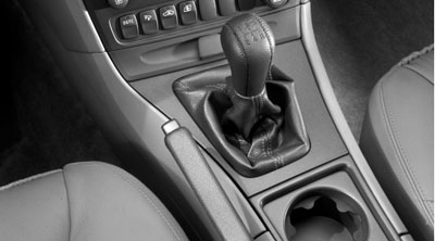 2009 Volvo S60 Leather Gear Selecor Lever Knob