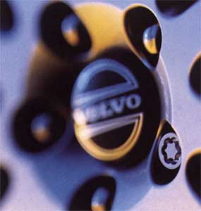 2000 Volvo V70 Locking Wheel Nuts