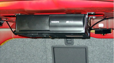 2007 Volvo S60 10-Disc CD Changer Under Parcel Shelf