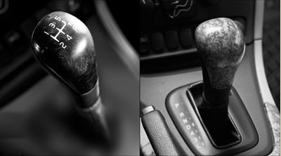 2006 Volvo S80 Wood Gear Selector Lever Knob