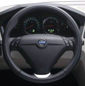 2008 Volvo S60 Leather Sport Steering Wheel