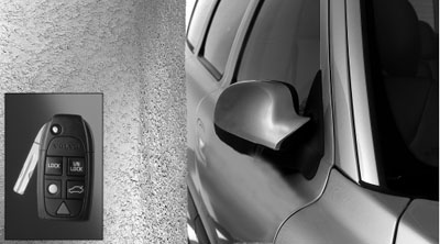 2006 Volvo V70 Power Folding Door Mirror