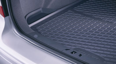 2010 Volvo V50 Molded Luggage Compartment Mat