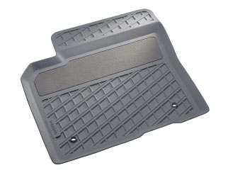 2007 Volvo V50 Form-Molded Rubber Floor Mats