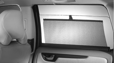 2006 Volvo S60 Rear Door Sun Blinds 8641650