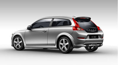 2012 Volvo C30 Body kit with end pipes