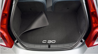 2008 Volvo C30 Mat, luggage compartment, textile, reversible