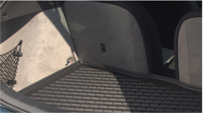 2009 Volvo C30 Mat, luggage compartment, molded plastic