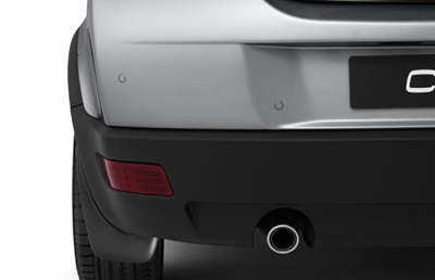 2012 Volvo C30 Mudflaps, front and rear