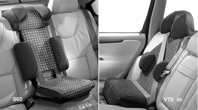 2008 Volvo S60 Child seat, padded upholstery