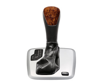2010 Volvo XC90 Gear shift knob, wood