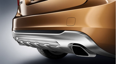 2012 Volvo S60 End pipes, rectangular