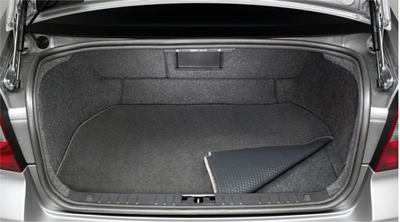 2017 Volvo S60 Cross Country Mat, luggage compartment, textil 30721955