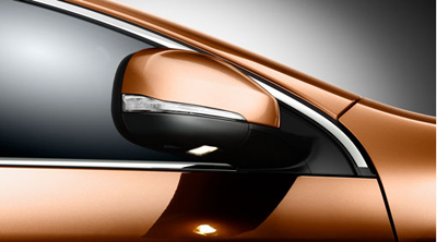 2014 Volvo S60 Rearview mirror, door, foldable with ground lighting