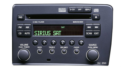 2008 Volvo S60 Satellite radio, Sirius
