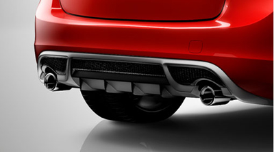 2013 Volvo S60 Sport exhaust system