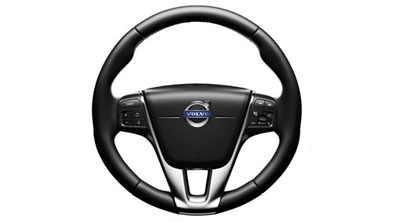 2018 Volvo S60 Steering wheels