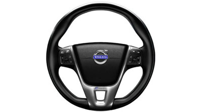 2015 Volvo S60 Steering wheel, sport, leather