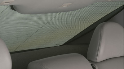 2010 Volvo V50 Sun Curtain