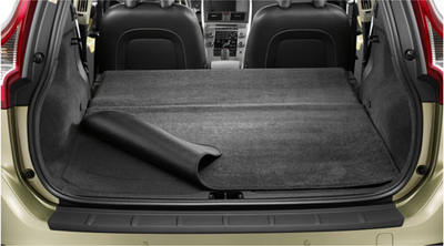 2010 Volvo V70 Mat, load compartment, textile, reversible/foldable