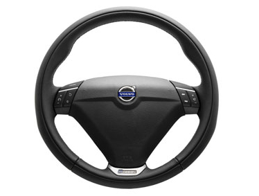 2014 Volvo XC90 Steering wheel, sport, leather with aluminum inlay