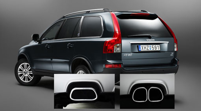 2013 Volvo XC90 End pipes