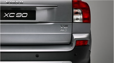 2011 Volvo XC90 Parking assistance, rear